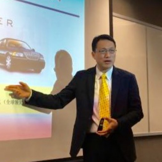 "(SH) Dr. Lawrence Wong talked on ""Big Data Strategies and new Business Models"" for HKU ICB."
