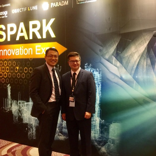 (HK) Dr. Lawrence Wong attended Fuji Xerox's SPARK Innovation Expo.