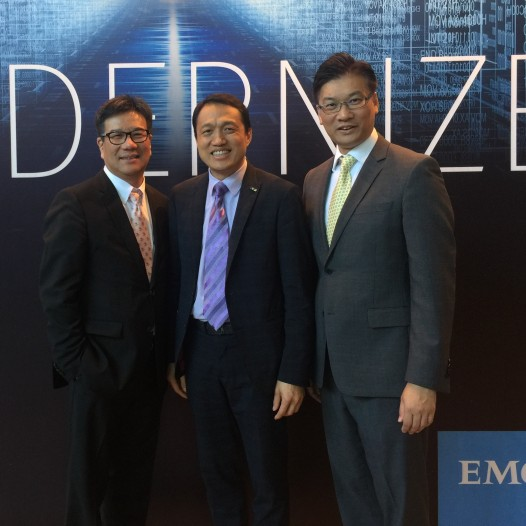 (HK) Dr. Lawrence Wong spoke at the EMC forum on Digital Transformation Copy