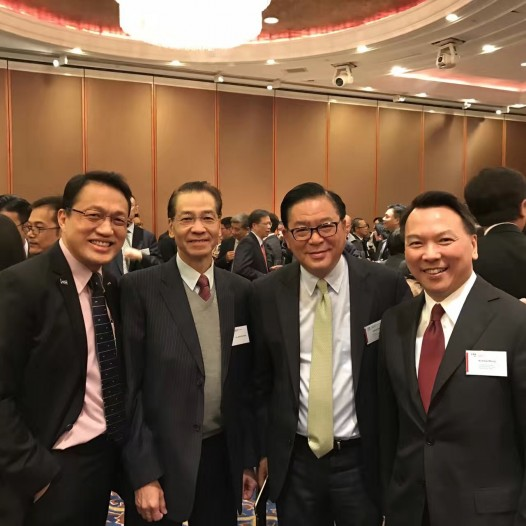 (HK) Dr. Lawrence Wong attended HKICPA spring cocktail.