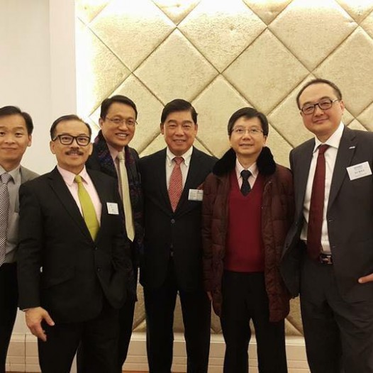 (HK) Dr. Lawrence Wong joined the HKiNEDA New Year lunch.
