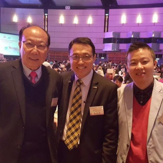 (HK) Dr. Lawrence Wong  joined the spring cocktail organised by HKFGA.