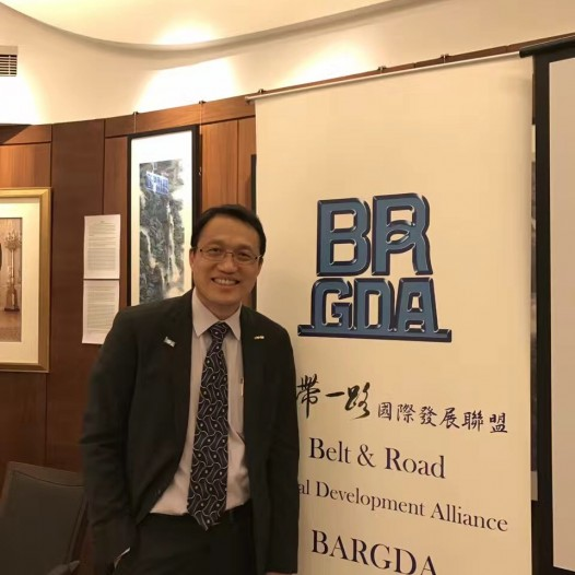 (HK) Dr. Lawrence Wong attended the 1st BARGDA networking dinner.