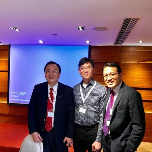 (HK) Dr.Lawrence Wong attended Information Security SIG Luncheon held by HK Computer Society.