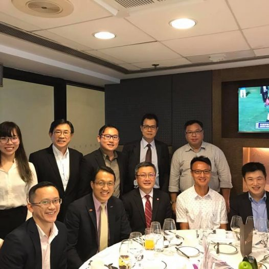 (HK) Dr. Lawrence Wong joined the CSA CXO Dinner organised by Cloud Security Alliance in HK Jockey Club.