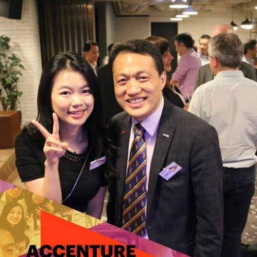 (HK) Dr. Lawrence Wong  participated the 30th Anniversary Reunion of Accenture Consulting.