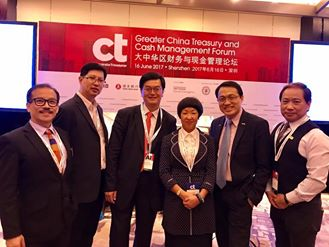 (SZ) Dr. Lawrence Wong joined the Corporate Treasurer's Greater China Treasury & Cash Management Forum.