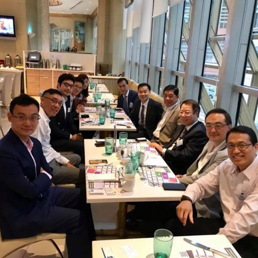 (HK) Dr. Lawrence Wong joined the HKINEDA monthly lunch.