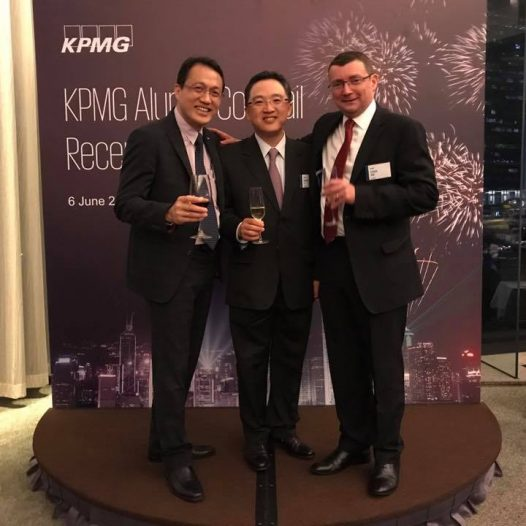 (HK) Dr. Lawrence Wong joined KPMG Alumni Cocktail Reception.