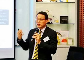 "(HK) Dr. Lawrence Wong spoke about ""Successful Applications of Big Data in Business"" at a Summer Cocktail Event organised by ShineWing."