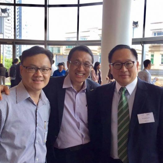 "(HK) Dr. Lawrence Wong joined the ""New Board for New Economy Companies"" seminar."