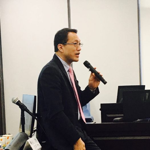 (HK) Dr. Lawrence Wong acted as the MC for HKICPA IT Conference held on 14 Oct 2017.