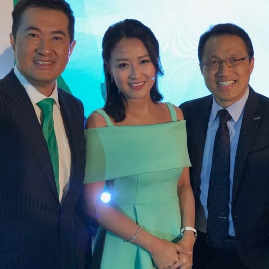 (HK) Dr. Lawrence Wong attended the Hang Lung Emerald Award Ceremony.