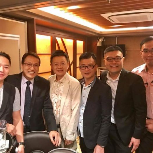 (HK) Dr. Lawrence Wong joined the gathering organised by CIO & IT association.