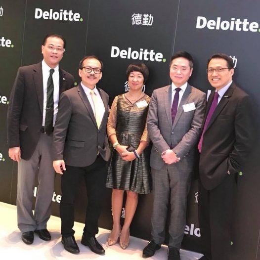 HKBAA Seminar organised by Deloitte