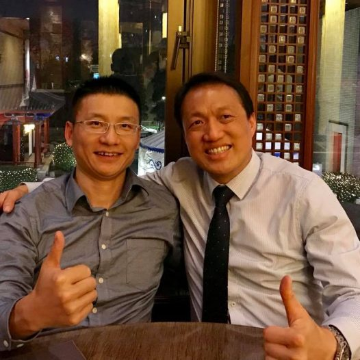 (BJ) Dr. Lawrence Wong was invited to participate in the promotion of Microsoft Accelerator.