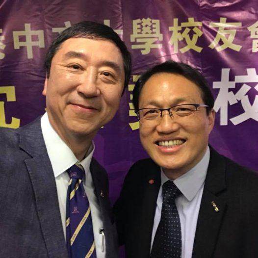The farewell dinner for Professor Joseph Sung, President of CUHK