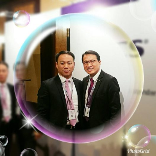 (HK) Dr. Lawrence Wong joined the Business Valuation Conference.