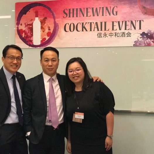(HK) Dr. Lawrence Wong joined the ShineWing Winter Cocktail Event.