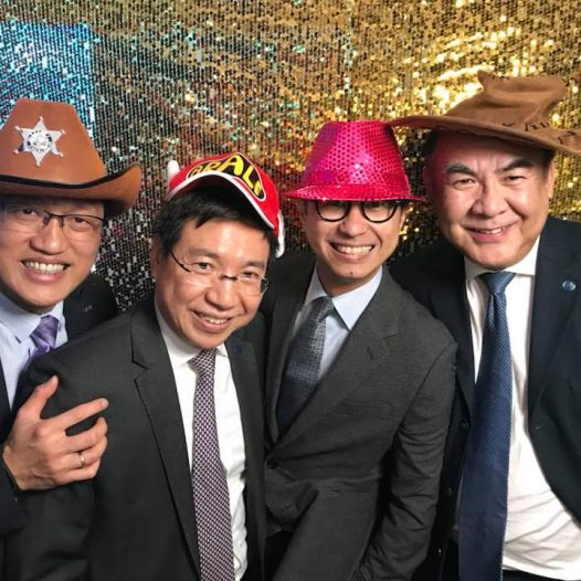 (HK) Dr. Lawrence Wong joined the Xmas Cocktail Party organised by AMTD.