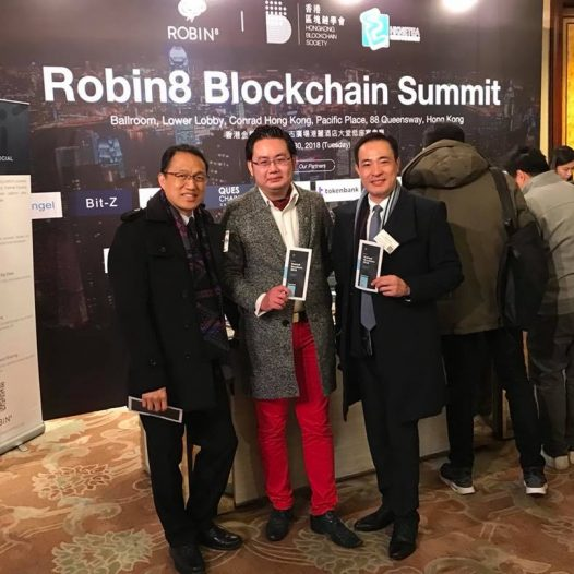 (HK) Dr. Lawrence Wong joined the Blockchain Summit 2018.