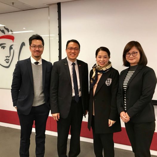 "(HK) Dr. Lawrence Wong spoke on ""Big Data – Innovative Business Applications"" with Prudential Insurance."