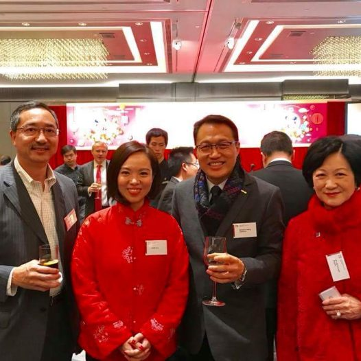 (HK) Dr. Lawrence Wong participated the HKICPA Spring Cocktail.