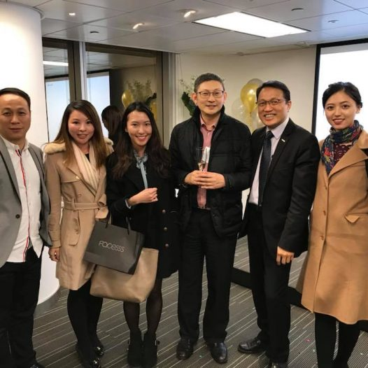 (HK) Dr. Lawrence Wong attended the CPA Australia Inauguration Reception.