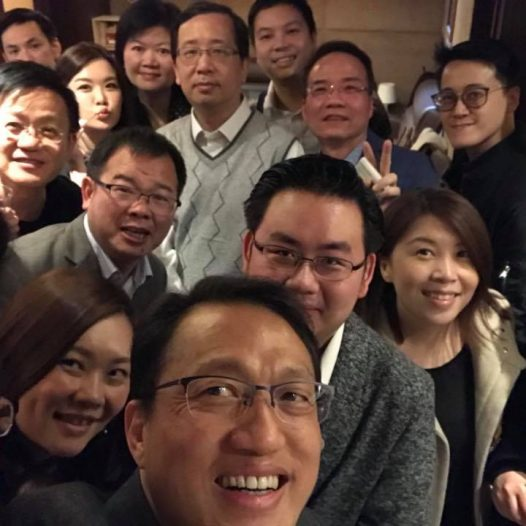 (HK) Dr. Lawrence Wong joined CIO & IT Executive Association gathering.