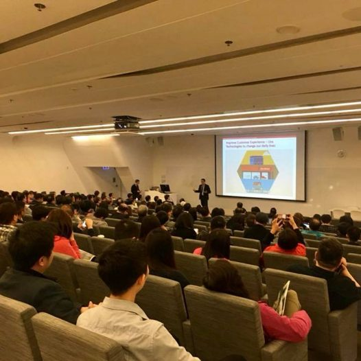 "(HK) Dr. Lawrence Wong spoke on ""Applying Disruptive Technologies to the Transportation Industry""."