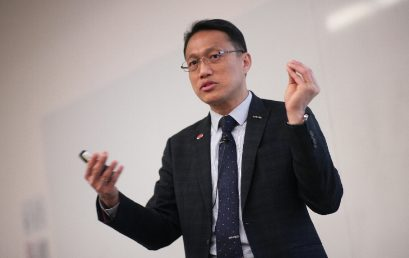 """(SH) Dr. Lawrence Wong will conduct a class of """"Omni Channel Strategy"""" for HKU ICB."""
