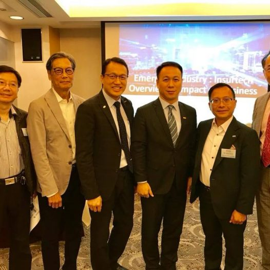 (HK) Dr. Lawrence Wong attended the HKiNEDA Networking Luncheon.