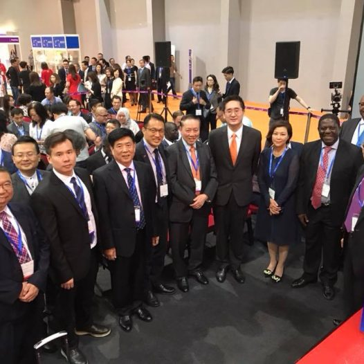 "(HK) Dr. Lawrence Wong attended the ""Hong Kong The Belt and Road International Food Expo"" 2018."