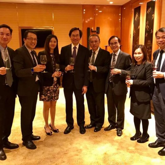 (HK) Dr. Lawrence Wong held the Board Meeting with Board of Directors.