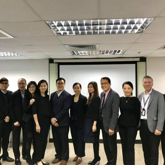 "(HK) Dr. Lawrence Wong participated in ""Director's Responsibility and Internal Control Risk Seminar"" as HKINEDA Convener."