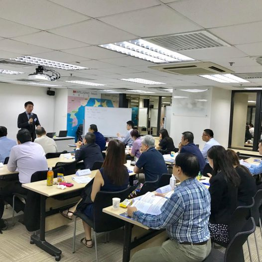 (HK) Dr. Lawrence Wong chaired INED Essentials Training Program Module 6.