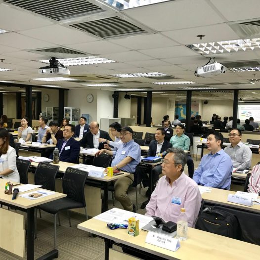 (HK) Dr. Lawrence Wong chaired the INED Essentials Training Program Module 2.