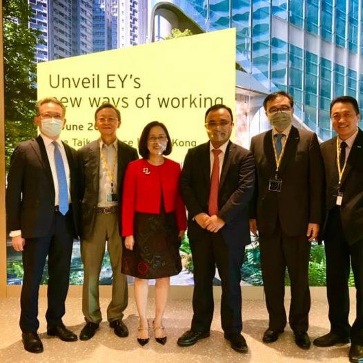 Ernst & Young Grand Office Opening at One TaiKoo Place
